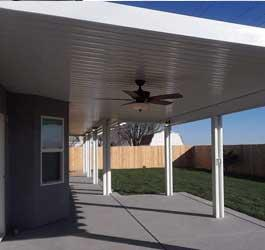 Aluminum carports - Premium quality aluminum insulated patio cover that are good for protecting boats, cars, vehicles, as well as patio area picnic spaces, aluminum carports.
